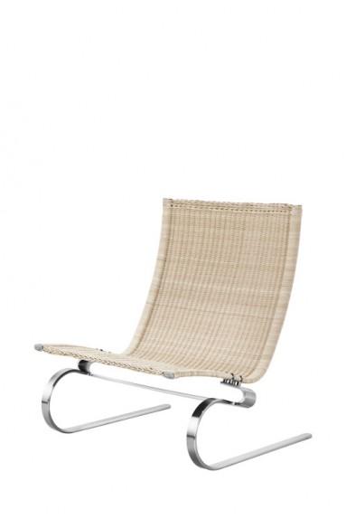 Fritz Hansen - PK20™ lounge chair by Poul Kjærholm