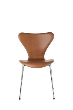 Fritz Hansen - Series 7™ Upholstered Leather Chair by Arne Jacobsen