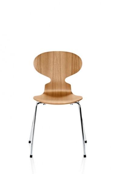 Fritz Hansen - ANT™ Chair Lacquered Veneer by Arne Jacobsen