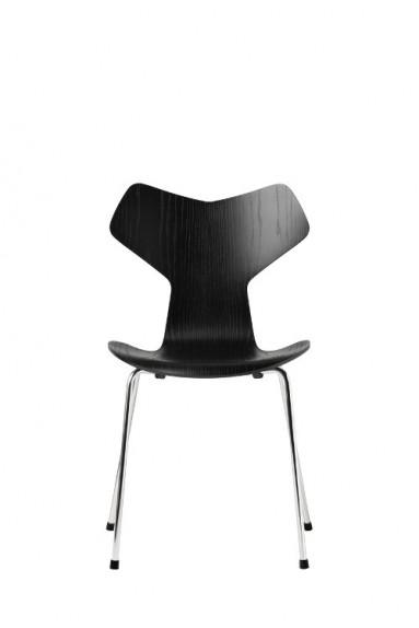 Fritz Hansen - Siège GRAND PRIX™ Frêne teinté par Arne Jacobsen