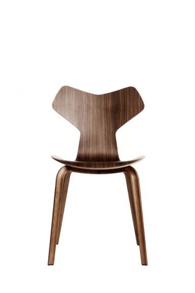Fritz Hansen - Siège GRAND PRIX™ Placage Laqué par Arne Jacobsen