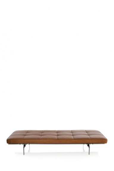 Fritz Hansen - Daybed PK80™ leather by Poul Kjærholm