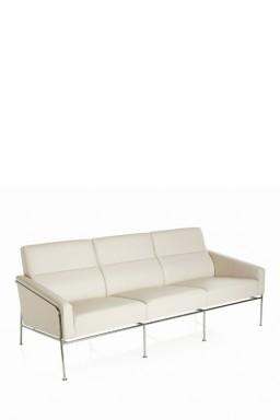 Fritz Hansen - Sofa 3-places Series 3300™ par Arne Jacobsen