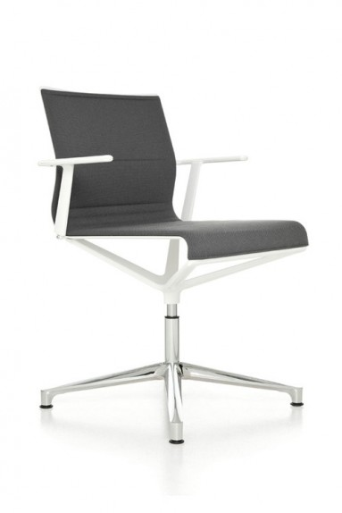 ICF Office   Stick Chair On Glides