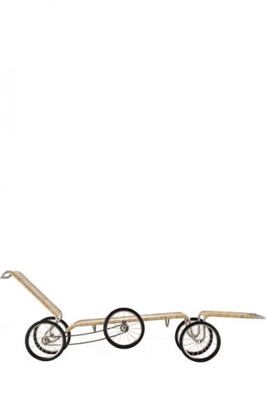 Tecta Bauhaus - F41E Breuer-couch on wheels