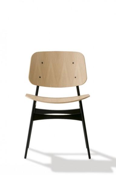 Børge Mogensen - Søborg Chair - Wooden frame