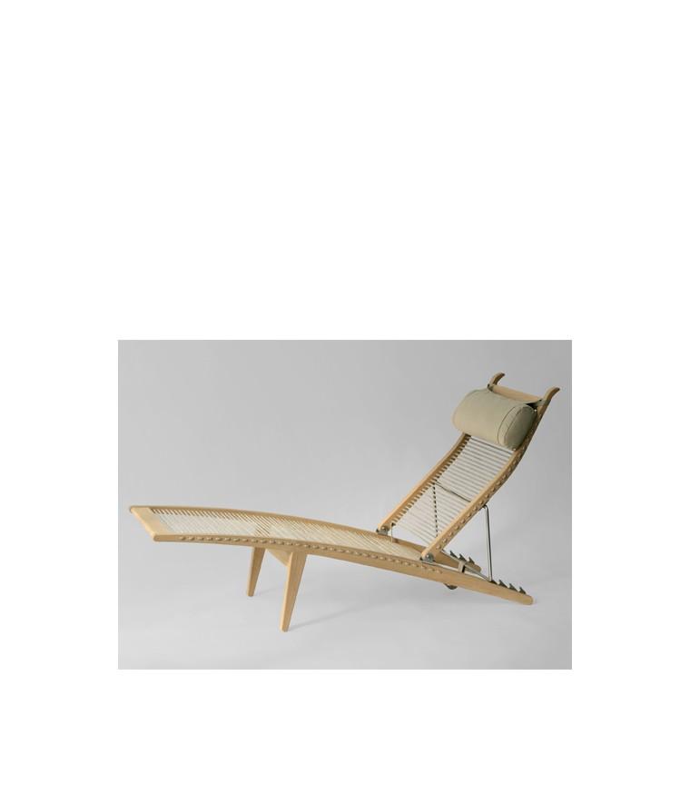 Pp Mobler Hans Wegner Pp524 Deck Chair Uber Modern