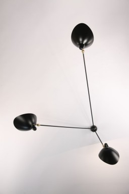 Serge Mouille - Serge Mouille Spider Wall Light with 3 fixed arms
