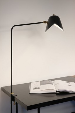Serge Mouille - Desk lamp Simple Agrafée