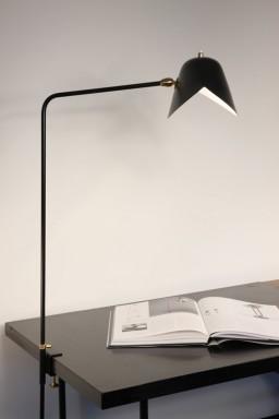 Serge Mouille - Serge Mouille simple Agrafée Lamp