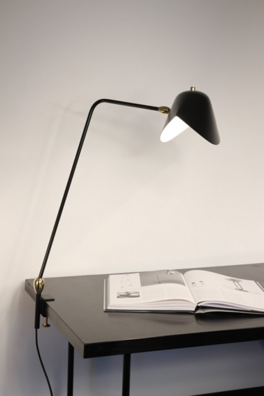 Serge Mouille - Lampe Agrafée 2 rotules Serge Mouille
