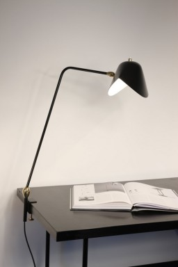 Serge Mouille - Desk lamp Agrafée 2 rotulas