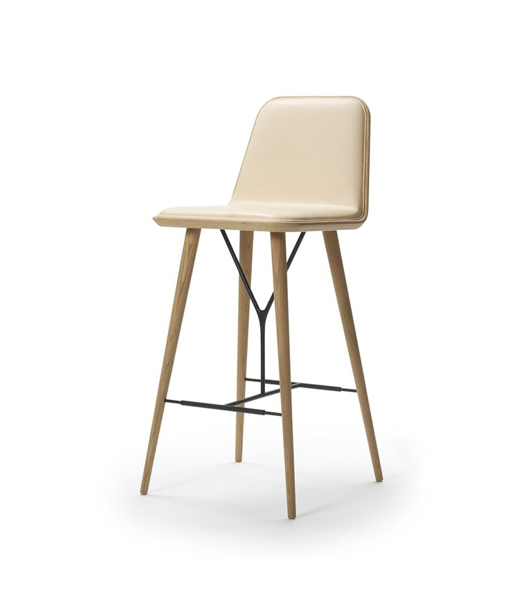 Kitchen Bar Stools For Small Spaces: Fredericia Spine Barstool