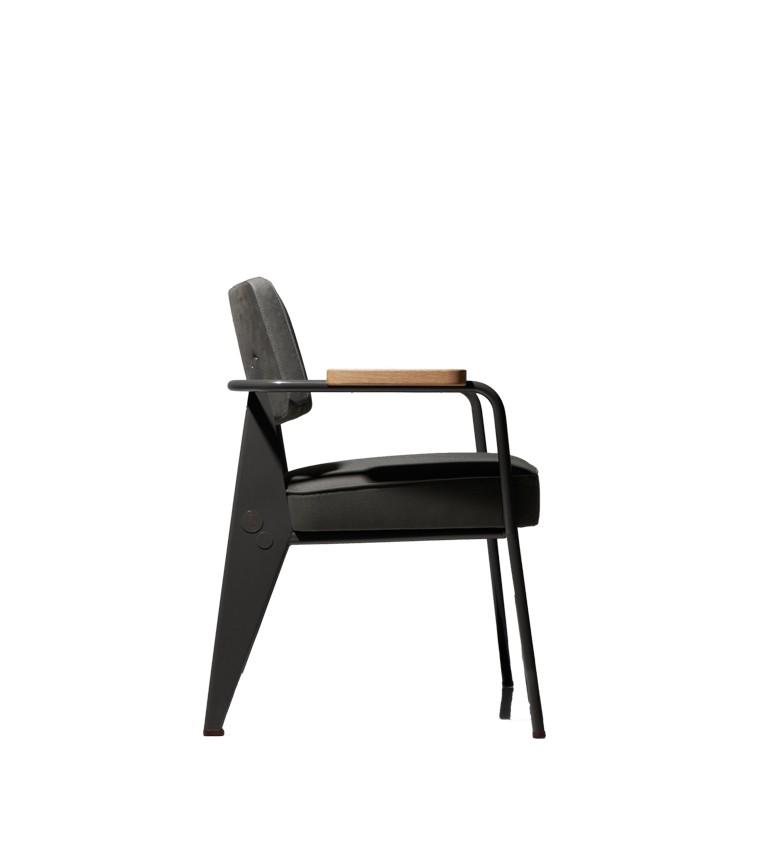 vitra fauteuil direction jean prouv. Black Bedroom Furniture Sets. Home Design Ideas