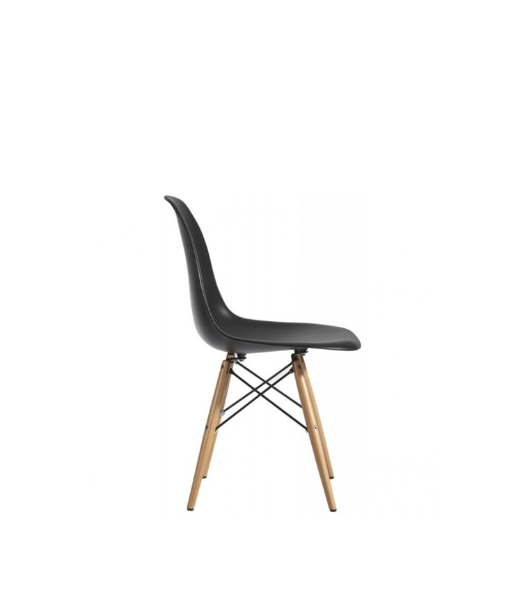 vitra plastic side chair dsw charles ray eames