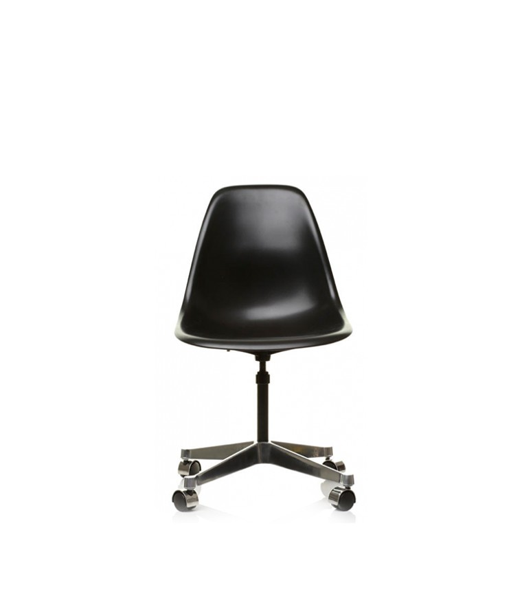 vitra plastic side chair pscc charles ray eames. Black Bedroom Furniture Sets. Home Design Ideas