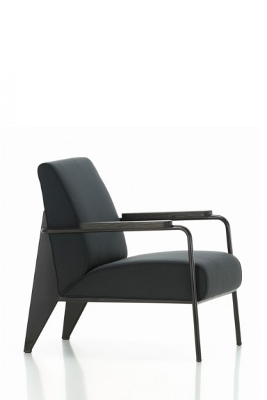 vitra fauteuil de salon jean prouve. Black Bedroom Furniture Sets. Home Design Ideas