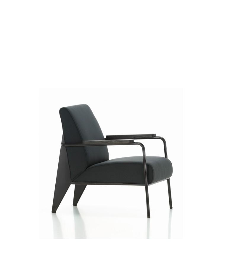 vitra fauteuil de salon jean prouve. Black Bedroom Furniture Sets. Home Design Ideas