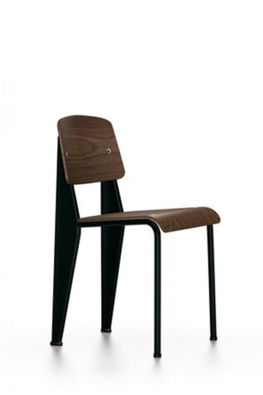 Vitra - Chaise Standard bois Vitra