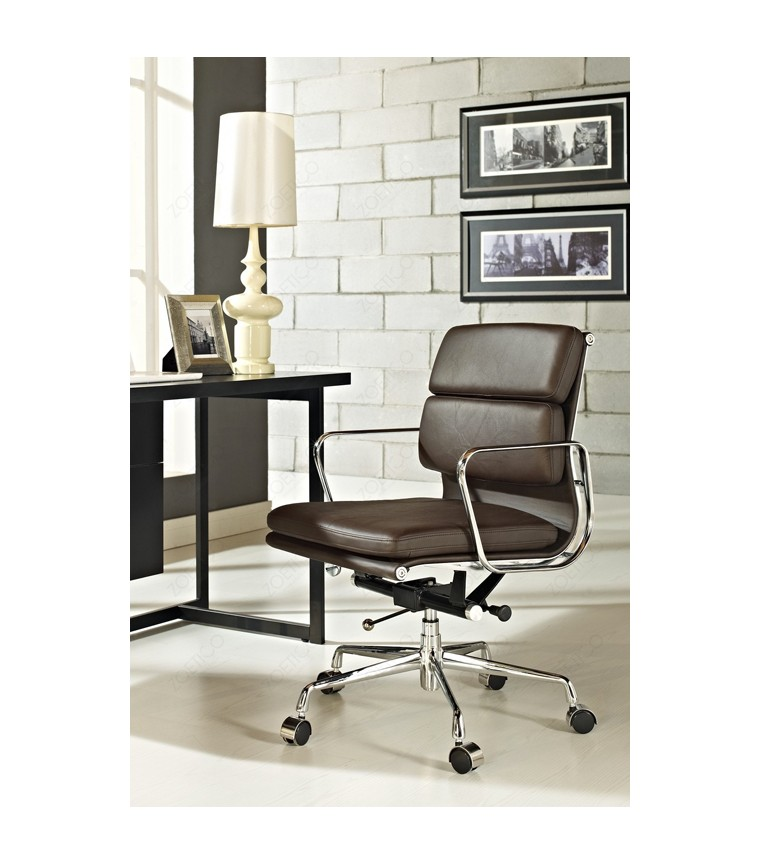 vitra soft pad chairs ea217 charles ray eames. Black Bedroom Furniture Sets. Home Design Ideas