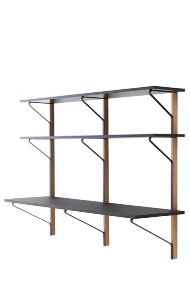 Artek - Kaari Wall Shelf with Desk