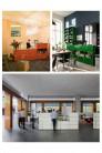 UBER-MODERN - : Banques d'accueil Proposition 4 USM Haller avec présentoir vitrine 278 x 178 x h109 cm| UBER-MODERN