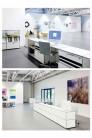 UBER-MODERN - Banques d'accueil Proposition 3 USM Haller Séparation acoustique 263 x 148 x h144 cm| UBER-MODERN