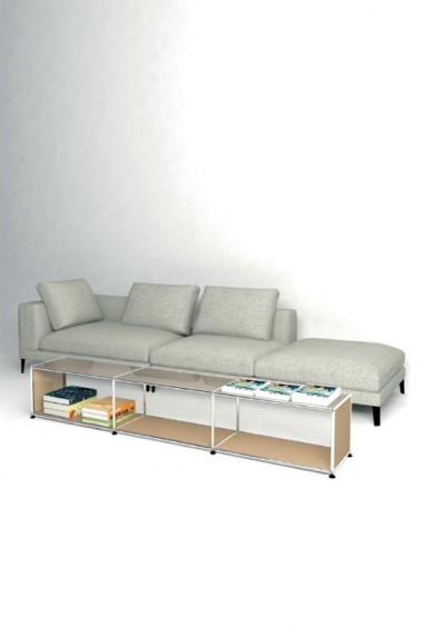 USM Haller - Longue table Solutions Tables basses N°08 USM Haller 228 x 38 x h39 cm
