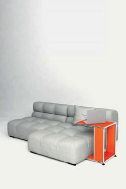 USM Haller - Bout de canapé Solutions Tables basses N°01 USM Haller 43 x 53 x h54 cm