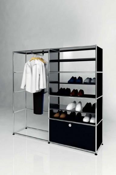 USM Haller - Présentoir dressing Solutions Retail N°10 USM Haller 153 x 38 x h144cm