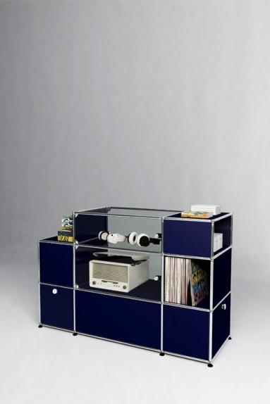 USM Haller - Meuble de rangement Solutions Retail N°07 USM Haller 148 x 53 x h99 cm