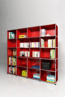 USM Haller - Solutions Bibliothèques Home N°07 USM Haller 126 x 38 x h179 cm