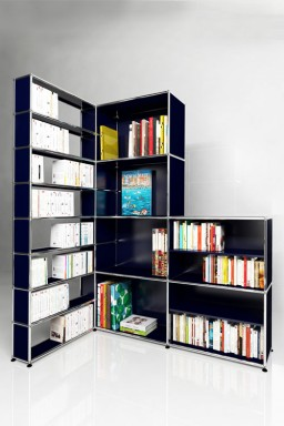 USM Haller - Meuble d'angle Solutions Bibliothèques Home N°06 USM Haller 171 x 113 x h207 cm
