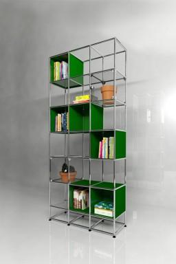 USM Haller - Solutions Bibliothèques Home N°04 USM Haller 108 x 38 x h351 cm
