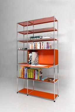USM Haller - Solutions Bibliothèques Home N°01 USM Haller 1 porte 113 x 38 x h201 cm