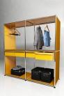 UBER-MODERN - Penderie 4 tiroirs Solutions Dressing N°05 USM Haller 153 x 53 x h154 cm | UBER-MODERN