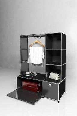 USM Haller - Penderie 2 portes Solutions Dressing N°04 USM Haller 113 x 53 x h144 cm