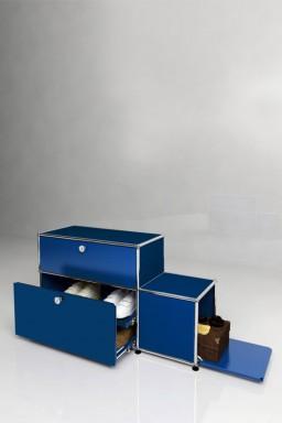 USM Haller - Meuble à chaussures 1 porte 2 tiroirs Solutions Dressing N°03 USM Haller 113 x 38 x h64 cm