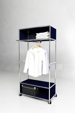 USM Haller - Penderie Solutions Dressing N°01 USM Haller 78 x 38 x h158 cm