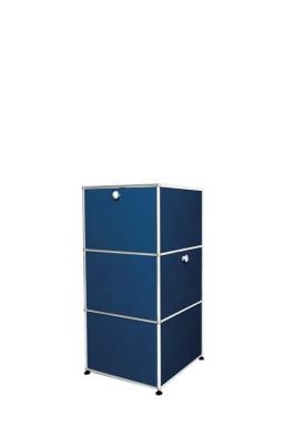 USM Haller - Secrétaire 1 porte 2 tiroirs USM Haller Home Office 53 x 53 x h112 cm