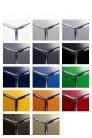UBER-MODERN - Bureau d'appoint 1 porte 2 tiroirs USM Haller Home Office 128 x 53 x h77 cm | UBER-MODERN