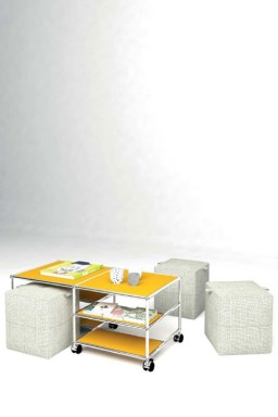 USM Haller - Solutions Tables basses N°10 USM Haller 103 x 53 x h43 cm