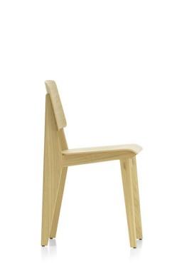 Vitra - Chaise Tout Bois Vitra