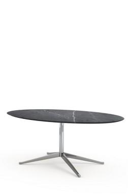 Knoll - Florence Knoll table haute ovale 198