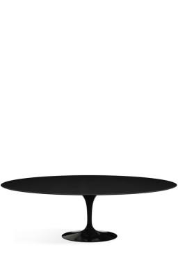 Knoll - Saarinen Tulip Table Haute Ovale pour 8