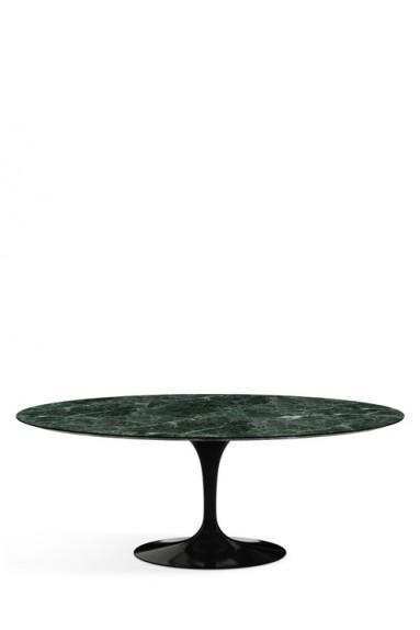 Knoll - Saarinen Tulip Table Haute Ovale pour 6