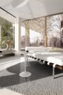 UBER-MODERN - Saarinen Tulip Table Basse Ovale Moyenne