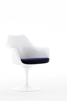 Knoll - Saarinen Chaise Tulipe avec Coussin