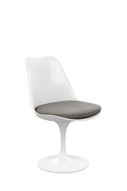 Knoll - Saarinen Tulip Side Chair with Seat Cushion
