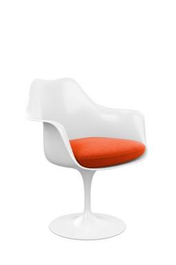 Knoll - Saarinen Tulip Armchair with Seat Cushion